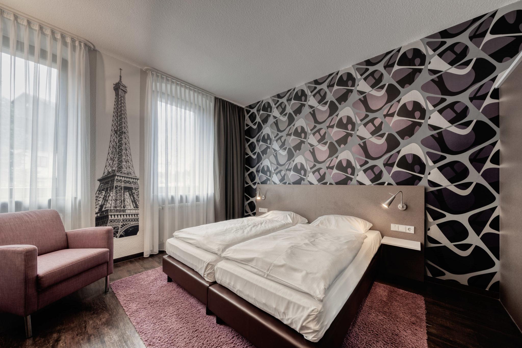Doppelzimmer Paris Hotel L'adresse